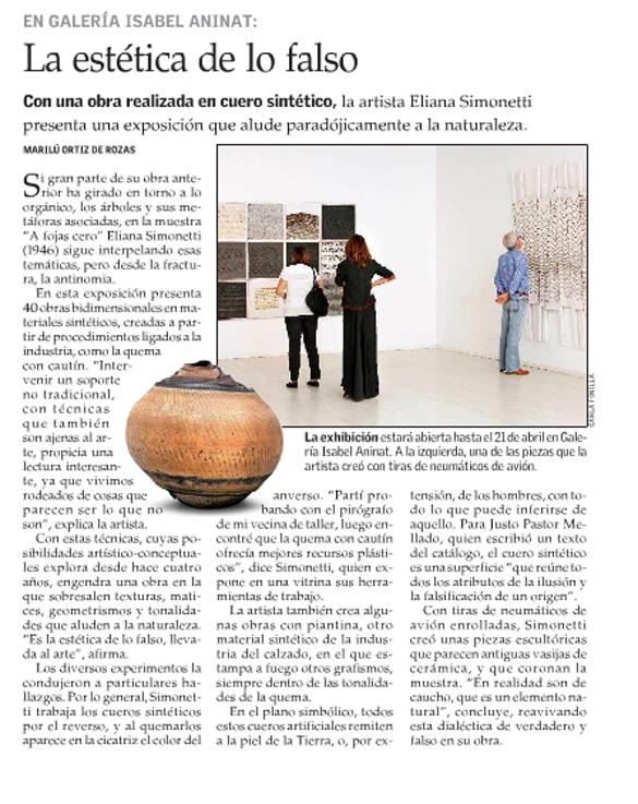 Cultura del Mercurio 15 abril 2013